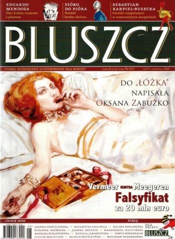 Okładka książki Bluszcz, nr 9 / czerwiec 2009