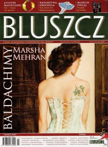 Okładka książki Bluszcz, nr 6 / marzec 2009