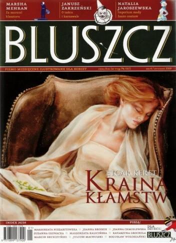 Okładka książki Bluszcz, nr 4 / styczeń 2009