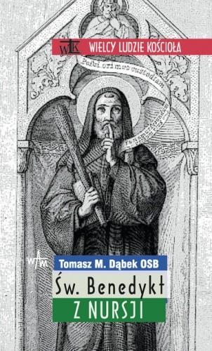 Okładka książki Św. Benedykt z Nursji