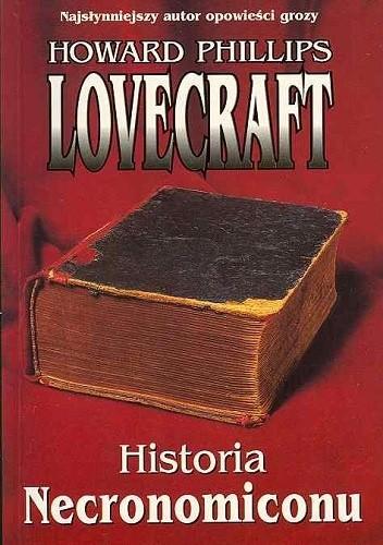 Okładka książki Historia Necronomiconu
