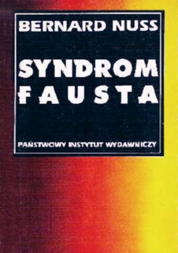 Okładka książki Syndrom Fausta