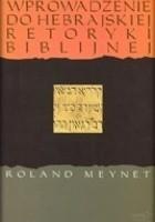 Wprowadzenie do hebrajskiej retoryki biblijnej