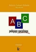 Okładka książki ABC pedagoga specjalnego