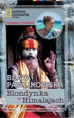 Okładka książki Blondynka w Himalajach