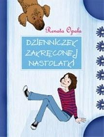 Okładka książki Dzienniczek zakręconej nastolatki