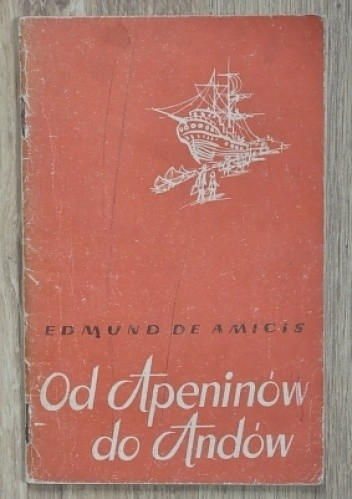 Okładka książki Od Apeninów do Andów