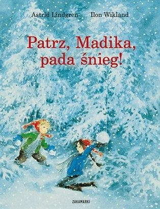 Okładka książki Patrz, Madika, pada śnieg!