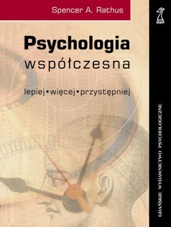 Okładka książki Psychologia współczesna