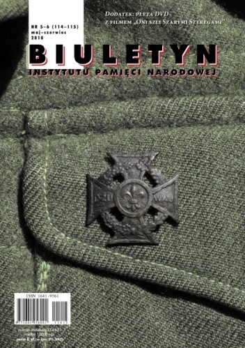 Okładka książki Biuletyn IPN nr 5-6/2010