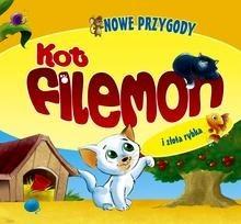 Okładka książki Kot Filemon i złota rybka. Nowe przygody