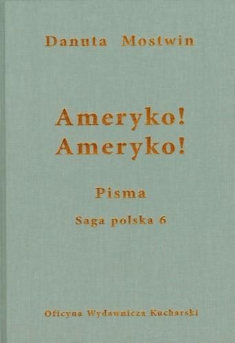 Okładka książki Ameryko! Ameryko!