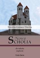 Okładka książki Nowe scholia do tekstu implicite. Tom I