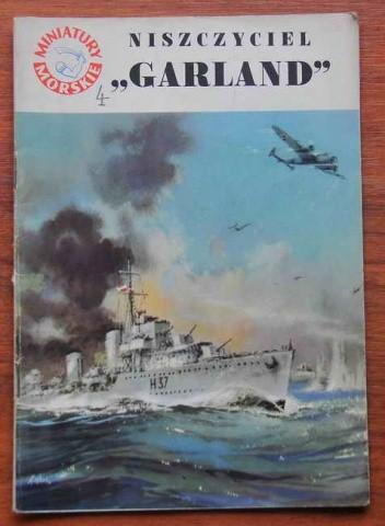 """Okładka książki Niszczyciel """"Garland"""""""