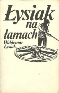 Okładka książki Łysiak na łamach
