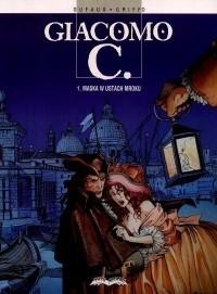Okładka książki Giacomo C. -01- Maska w Ustach Mroku