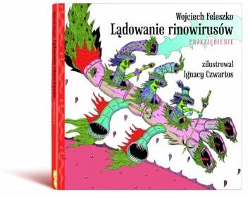 Okładka książki Lądowanie Rinowirusów. Przeziębienie