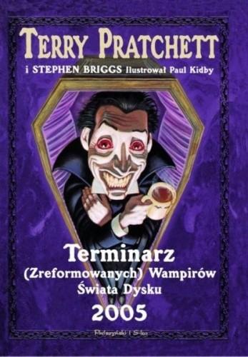 Okładka książki Terminarz (Zreformowanych) Wampirów Świata Dysku 2005