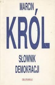 Okładka książki Słownik demokracji