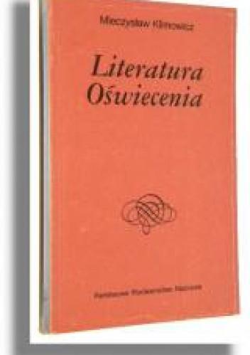 Okładka książki Literatura oświecenia