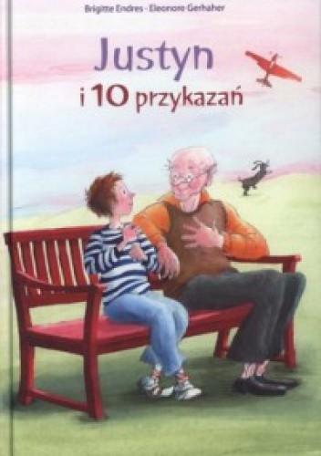 Okładka książki Justyn i 10 przykazań