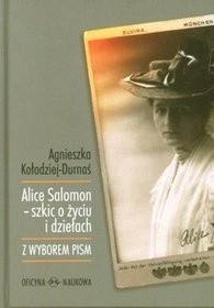 Okładka książki Alice Salomon- Szkic o życiu i dziełach