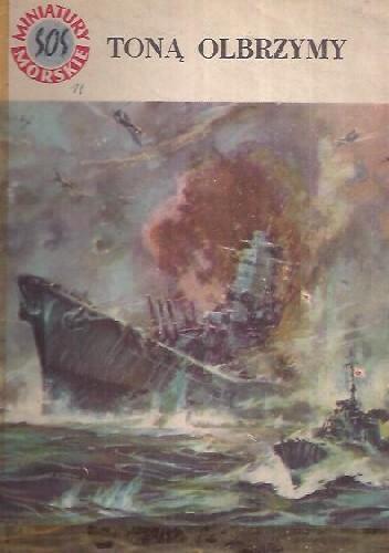 Okładka książki Toną olbrzymy