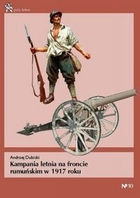 Okładka książki Kampania letnia na froncie rumuńskim w 1917 roku