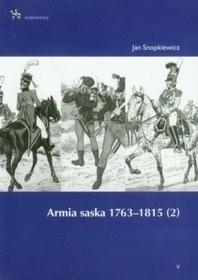 Okładka książki Armia saska 1763-1815. (2)