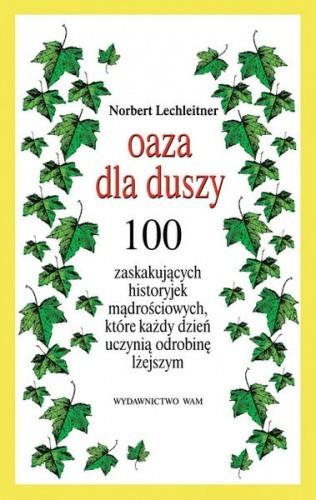 Okładka książki Oaza dla duszy