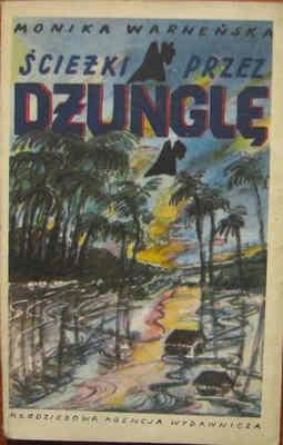 Okładka książki Ścieżki przez dżunglę