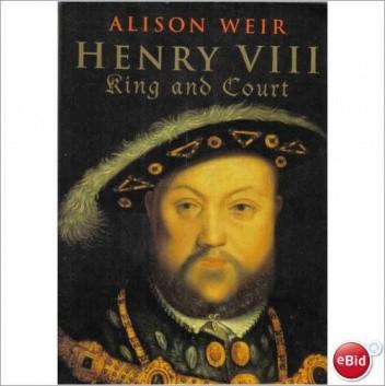 Okładka książki Henry VIII. King and Court