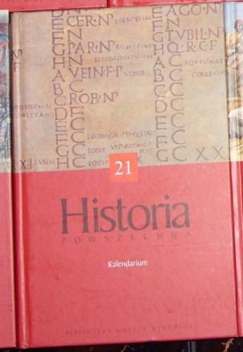 Okładka książki Historia powszechna. Kalendarium
