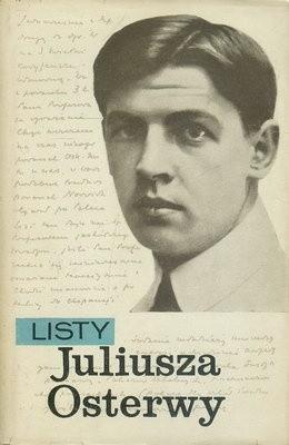Okładka książki Listy Juliusza Osterwy