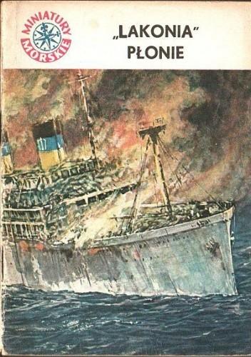 Okładka książki Lakonia płonie