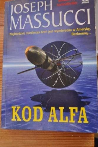Okładka książki Kod Alfa
