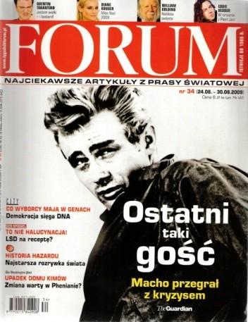 Okładka książki Forum, nr 34 (2296) / 24.08-30.08.2009