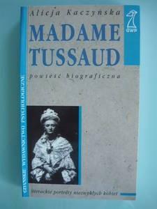 Okładka książki Madame Tussaud