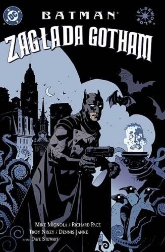 Okładka książki Batman: Zagłada Gotham