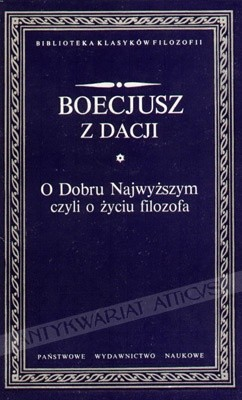 Okładka książki O Dobru Najwyższym, czyli o życiu filozofa