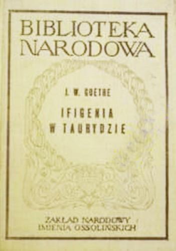 Okładka książki Ifigenia w Taurydzie