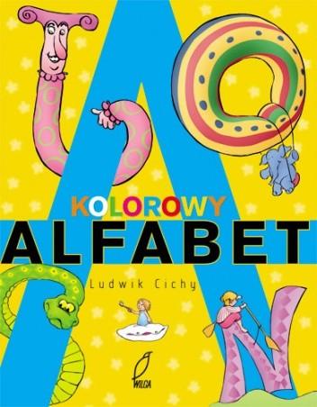 Okładka książki Kolorowy alfabet