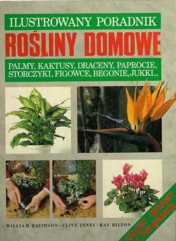 Okładka książki Rośliny domowe