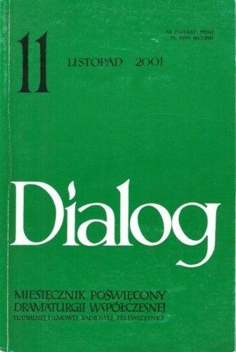Okładka książki Dialog, nr 11 (540) / listopad 2001