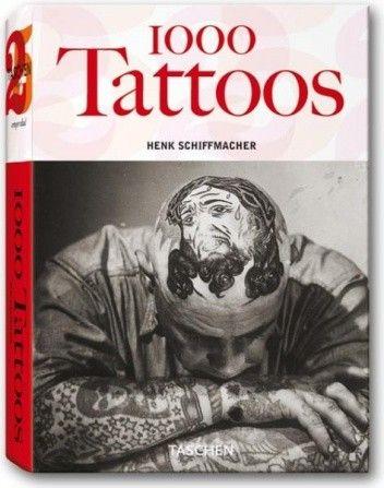Okładka książki 1000 Tattoos