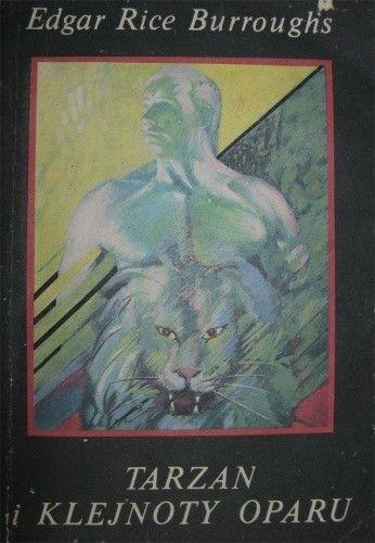 Okładka książki Tarzan i klejnoty Oparu