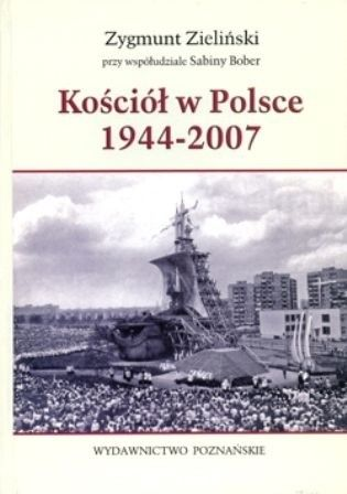 Okładka książki Kościół w Polsce 1944-2007