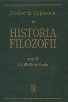 Okładka książki Historia filozofii. Tom 6. Od Wolffa do Kanta
