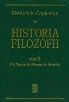 Okładka książki Historia filozofii. Tom 9. Od Maine de Birana do Sartre`a