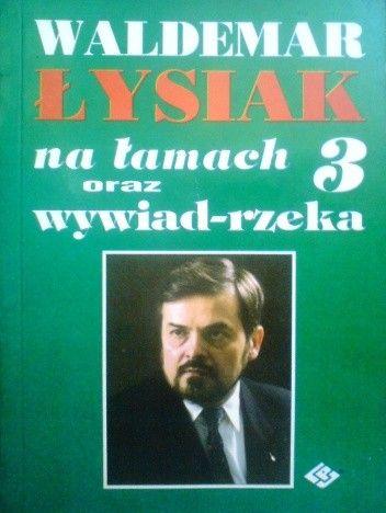 Okładka książki Łysiak na łamach 3